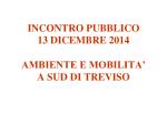 Presentazione convegno 13 dicembre 2014